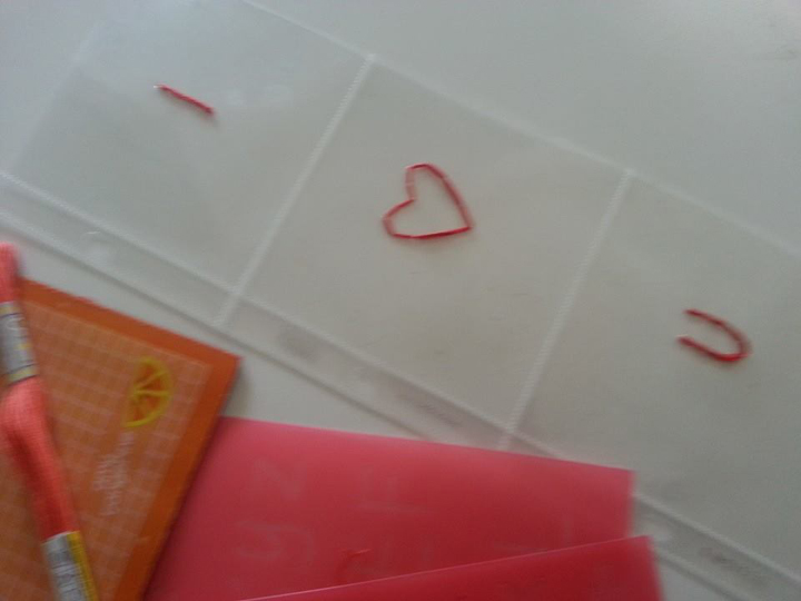 Stitched iloveu page protector