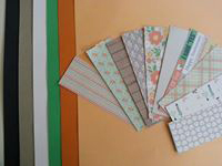 Cardstock with cards