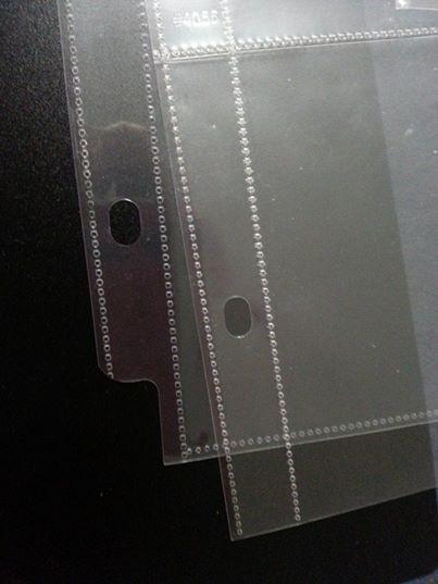 Recessed edge square edge