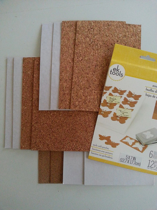 Cork sheets ek