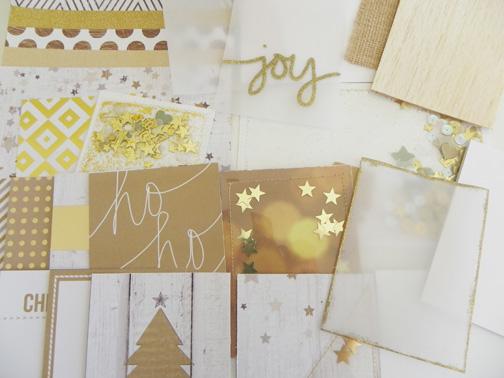Kit cards close up