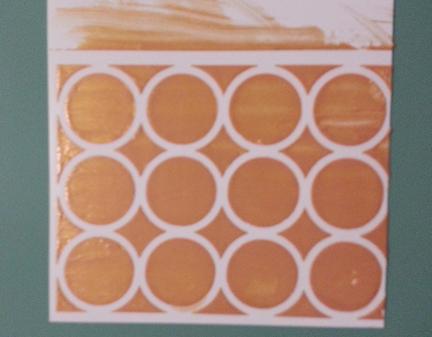 Stencil circles