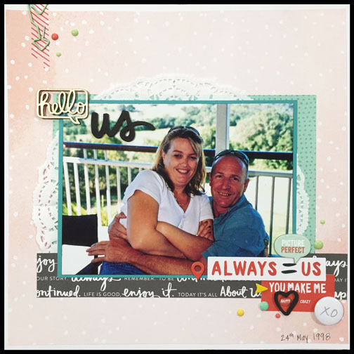 Always by Beth Patfull for The Stamp Spot