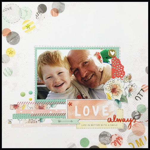 Love always by Beth Patfull for The Stamp Spot