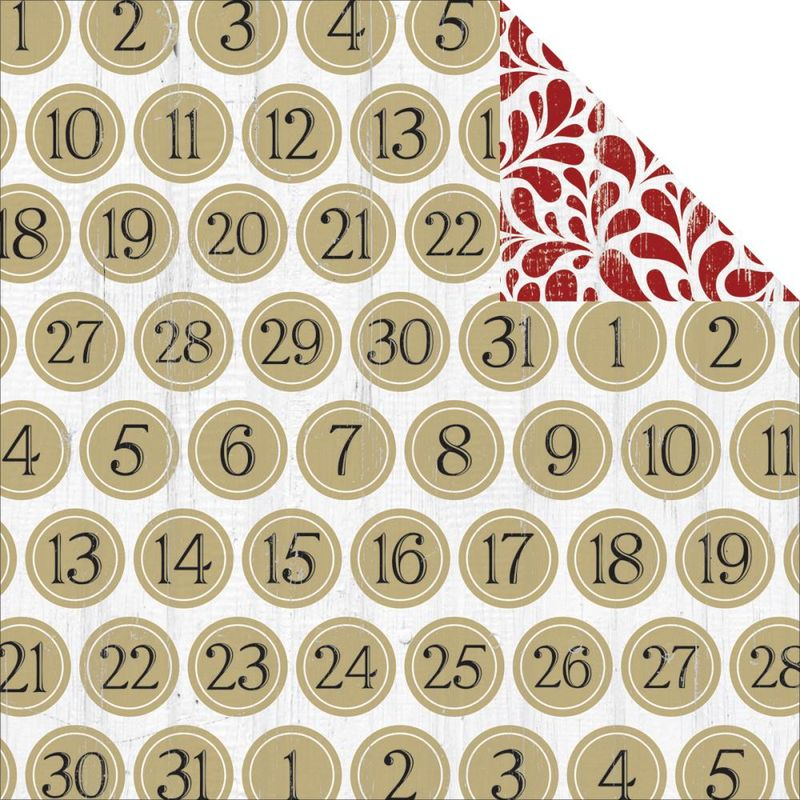 Teresa collins tinsel and co countdown 12x12