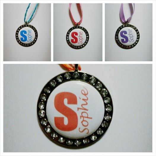 Blingy bag tags for The Stamp Spot