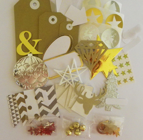 Doc dec 2015 kit gold silver emb for The Stamp Spot